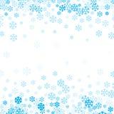 Fondo de la nieve que cae para el diseño de la Navidad y de la Feliz Año Nuevo fotos de archivo libres de regalías