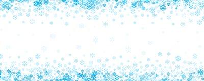 Fondo de la nieve que cae para el diseño de la Navidad y de la Feliz Año Nuevo imagen de archivo