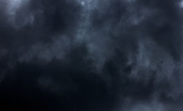 Fondo de la nube negra Fotografía de archivo