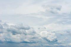 Fondo de la nube y del cielo Imagenes de archivo