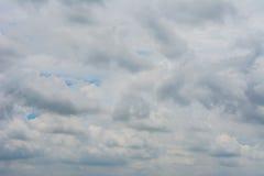 Fondo de la nube y del cielo Foto de archivo