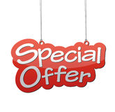 Fondo de la oferta especial Fotos de archivo libres de regalías
