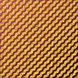 Fondo de la onda del zigzag del brillo del oro ilustración del vector