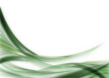 Fondo de la onda verde Foto de archivo libre de regalías