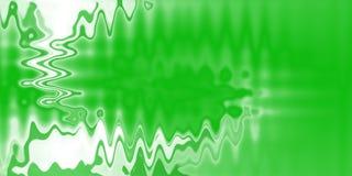 Fondo de la onda verde Imágenes de archivo libres de regalías