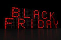 Fondo de la oscuridad de Black Friday Imagenes de archivo