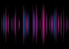 Fondo de la púrpura del equalizador Fotografía de archivo