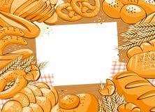 Fondo de la panadería Fotografía de archivo