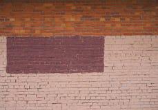 Fondo de la pared de la construcción de ladrillos del color imagenes de archivo