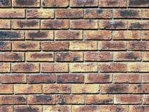 Fondo de la pared de ladrillo Fotografía de archivo