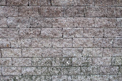 Fondo de la pared de ladrillo de Brown Foto de archivo