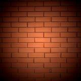 Fondo de la pared de ladrillo roja Fotos de archivo