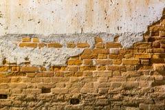 Fondo de la pared de ladrillo vieja Imagen de archivo libre de regalías