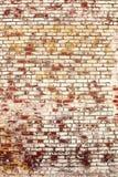 Fondo de la pared de ladrillo vieja del vintage Fotos de archivo