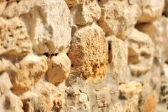 Fondo de la pared de piedra Imagen de archivo