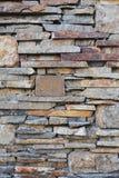 Fondo de la pared de piedra Foto de archivo libre de regalías