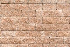 Fondo de la pared de piedra de la laterita Foto de archivo