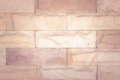 Fondo de la pared de piedra de la textura por tono del vintage Fotografía de archivo