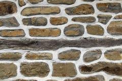 Fondo de la pared de piedra horizontal foto de archivo libre de regalías