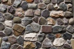 Fondo de la pared de piedra horizontal imagen de archivo libre de regalías