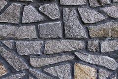 Fondo de la pared de piedra horizontal foto de archivo