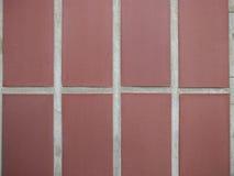 Fondo de la pared de piedra, textura de piedra del piso, piedra roja Foto de archivo libre de regalías