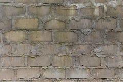 Fondo de la pared del bloque de escoria Foto de archivo libre de regalías
