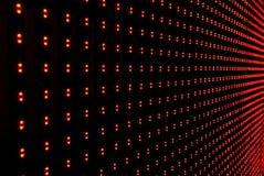 Fondo de la pared del LED Imagen de archivo