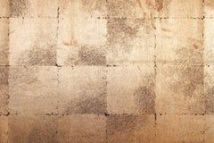 Fondo de la pared del oro Fotografía de archivo