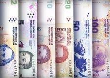 Fondo de la pared del Peso Fotografía de archivo