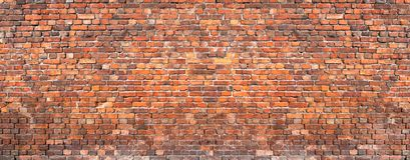 Fondo de la pared de ladrillo, casa vieja del ladrillo de la textura del grunge imágenes de archivo libres de regalías