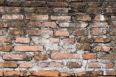 Fondo de la pared de ladrillo vieja del Grunge fotos de archivo