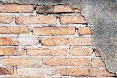Fondo de la pared de ladrillo vieja del Grunge fotografía de archivo libre de regalías