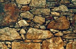 Fondo de la pared de piedra de piedras coloridas Foto de archivo