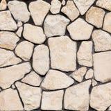 Fondo de la pared de la roca Imágenes de archivo libres de regalías