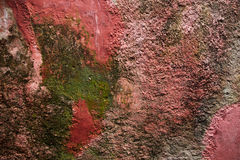 Fondo de la pared vieja del yeso Foto de archivo libre de regalías