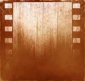 Fondo de la película de Brown Fotos de archivo libres de regalías