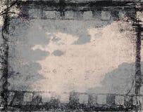 Fondo de la película de Grunge Imagen de archivo