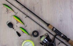 Fondo de la pesca deportiva fotografía de archivo