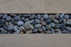 Fondo de la piedra arenisca y de la grava Imágenes de archivo libres de regalías