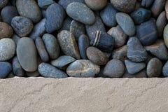 Fondo de la piedra arenisca y de la grava Imagen de archivo
