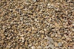 Fondo de la piedra machacada del granito Imagen de archivo