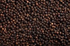 Fondo de la pimienta negra Foto de archivo libre de regalías