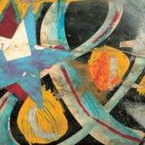 Fondo de la pintura de la textura Fotos de archivo