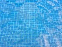 Fondo de la piscina Fotografía de archivo