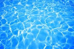 Fondo de la piscina de agua Imágenes de archivo libres de regalías