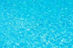 Fondo del agua azul Imagenes de archivo
