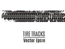 Fondo de la pista del neumático del vector Pista del neumático del Grunge libre illustration