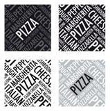 Fondo de la pizza Imágenes de archivo libres de regalías
