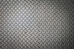Fondo de la placa de metal en color plata. Imagen de archivo libre de regalías